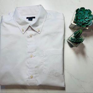 Tommy Hilfiger Pinpoint Oxford Shirt, Sz 16 New